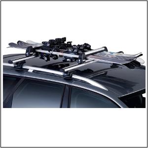 Vendita accessori auto online - porta sci per barre