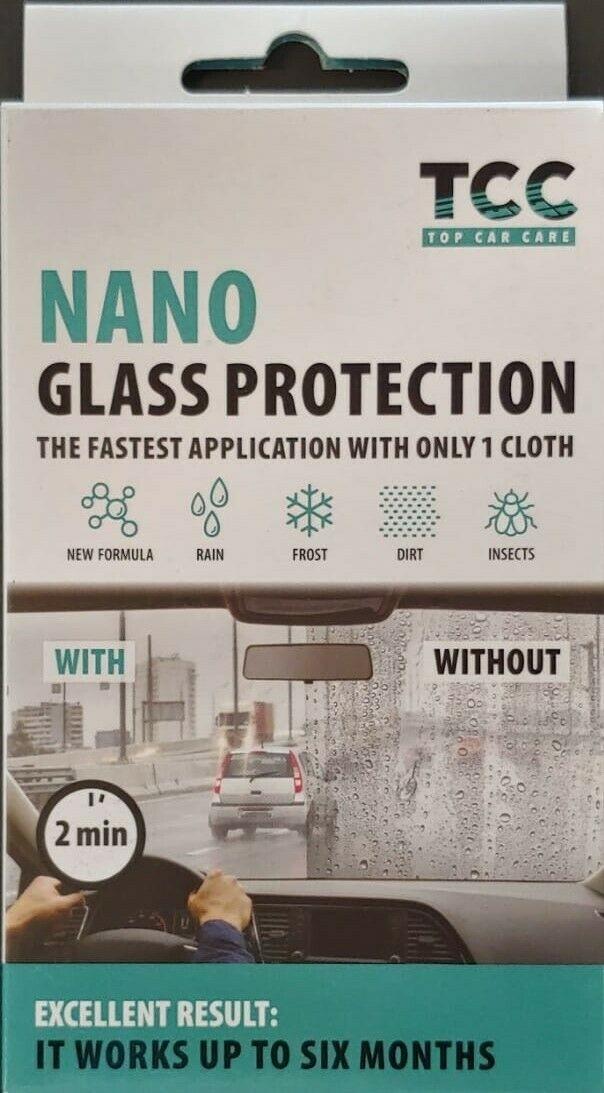 PROTEZIONE NANO TECNOLOGIA  PER VETRI - NANO GLASS PROTECTION  56029