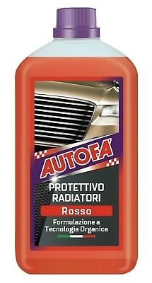 LIQUIDO ANTIGELO PROTETTIVO RADIATORI ROSSO RABBOCCO AUTOFA' 1 LT AREXONS 1526