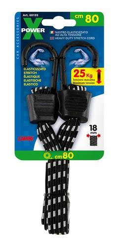 X-Power, nastro elasticizzato - 80 cm