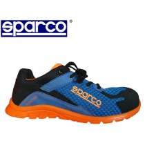 SCARPE SPARCO PRACTICE TG 45 BLU E ARANCIONE