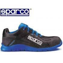 SCARPE SPARCO PRACTICE TG 44 NERO E BLU