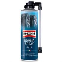 GOMMA SPRAY AUTO 300ML RIPARA FORATURA PNEUMATICO/I AREXONS 8473