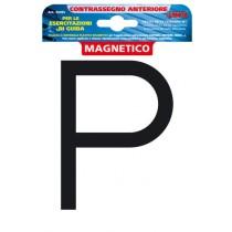 ADESIVO CONTRASSEGNO PER ESERCITAZIONI GUIDA, MAGNETICO - ANTERIORE