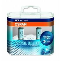 LAMPADA ALOGENA COOL BLUE INTENSE, H7 12 V, 55 W, LUCE BLU, LAMPADA DA 200H E BASE PX26D, 4100K, 1500 LUMEN