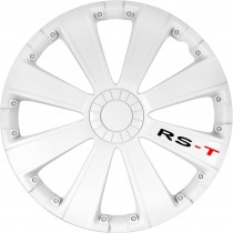 "SERIE 4 COPRICERCHI 16"" RS-T WHITE"